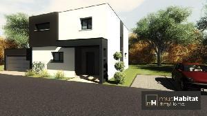 Maison Toit Plat A Mommenheim