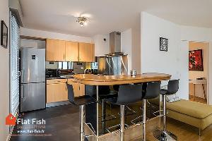 APPARTEMENT meublé 91.55 m² - 4 pièces - rue Duguesclin…